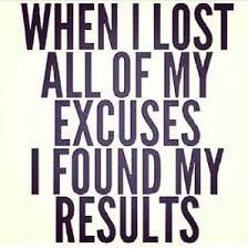 Get Real With Your Excuses