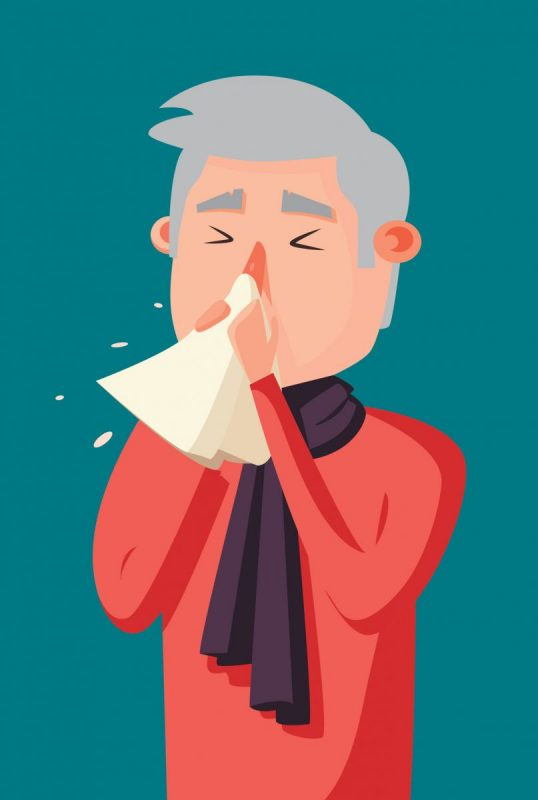 Is that winter sniffle a cold or a sinus infection?