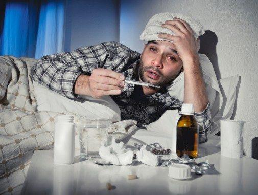 Proof men feel worse when ill