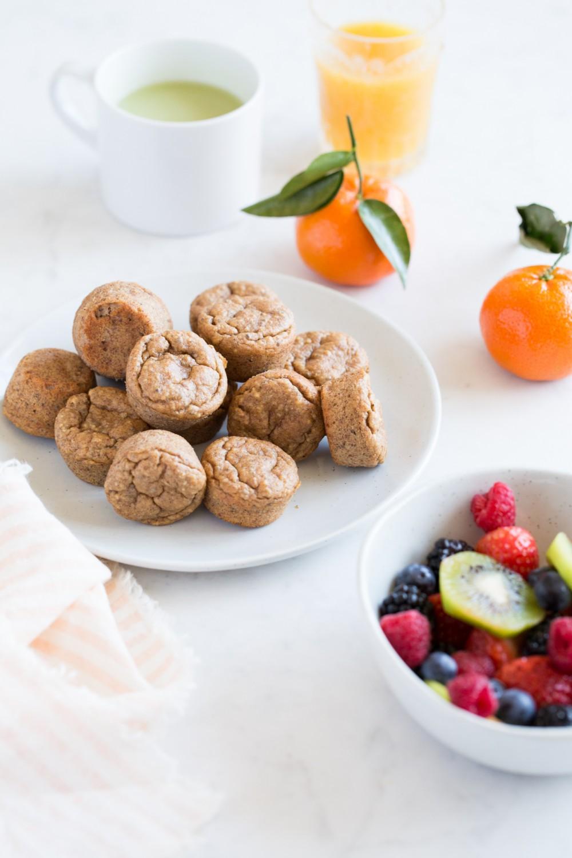 Flourless Bite-Sized Breakfast Muffins