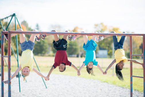 Should kids steer clear of the monkey bars?